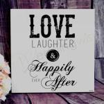 Happily Ever After Wall Plaque image