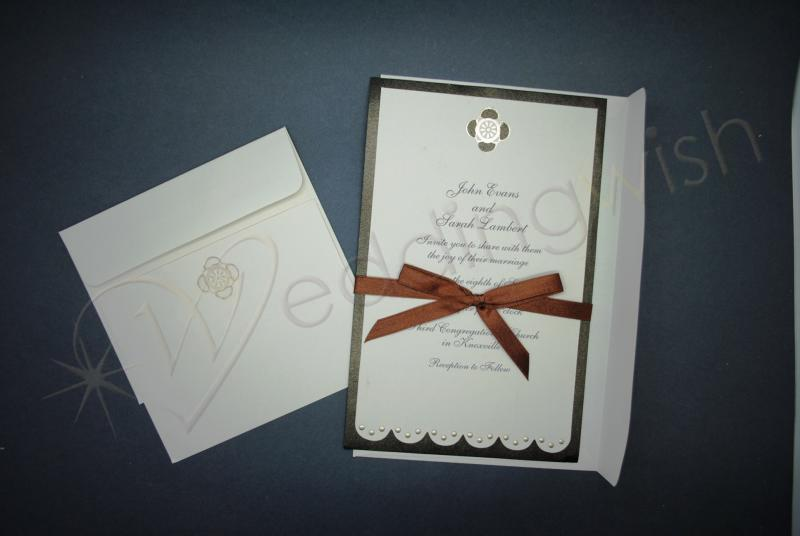 Wedding Wilton Chocolate Daisy Invitation Kit x 25 Wedding Wish