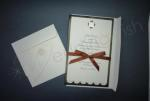 Wilton Chocolate Daisy Invitation Kit x 25 image