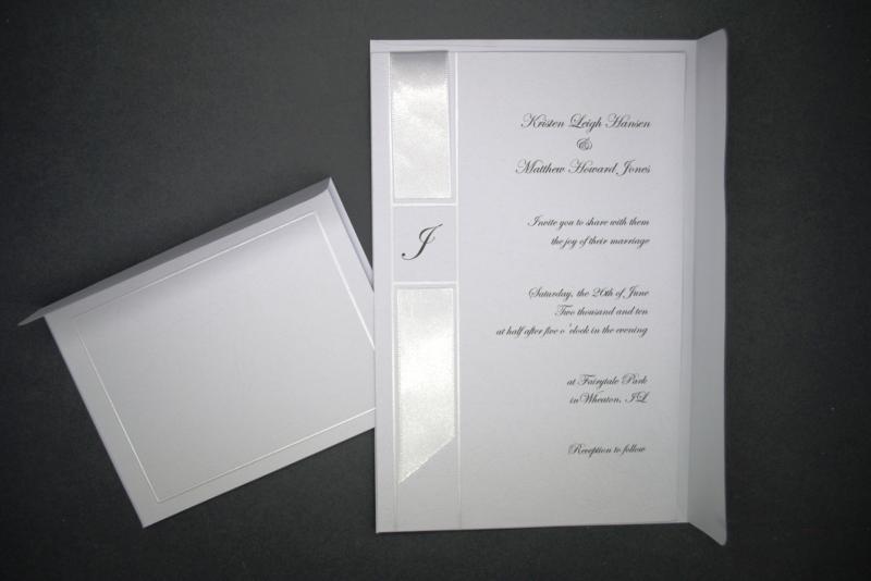 Wilton Wedding Invitations Template: Wedding Wilton Monogram Ribbon Invitation Kit X 25