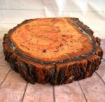 Rustic Tree Slab Cake Stand Large - HIRE  image