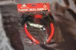 Flashing Red and Black Devil Horn Headband image