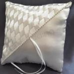 Ring Cushion - Rhinestone Woven with Diamantes image