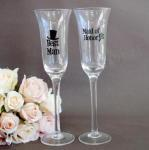 Toasting Glass - Best Man and Maid of Honor image