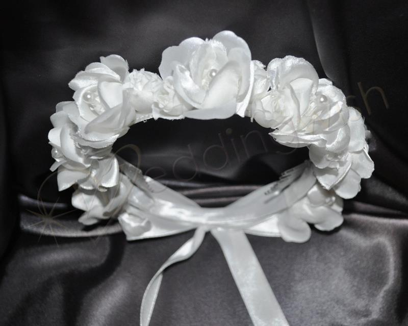 Wedding Flower Girl Head Dress Wedding Wish