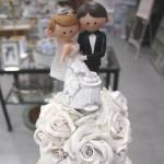 Bride and Groom Cake Toppers- Just Married image