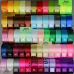 25 Yard Multiple Color 1.5 Inch Satin Ribbon image