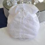 Bridal Dilly Bag White with Pearls image