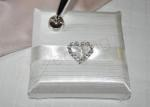 Satin Pen with Heart image