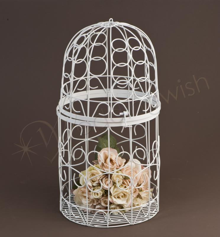 Wedding Large Bird Cage Card Keeper