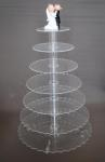 7 Tier Cupcake Stand - Hire Only image