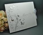 Butterflies Guest Book - Wedding or Engagement image