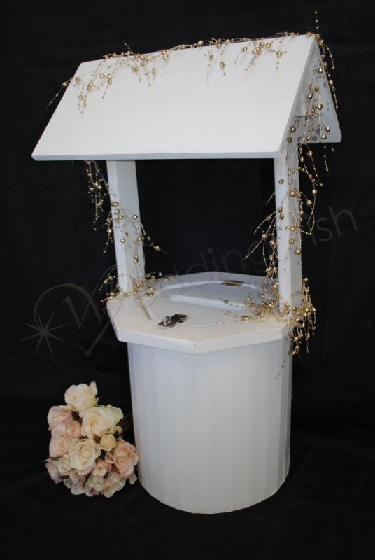 Wedding Wishing Well.Wedding Kate Round White Wedding Wishing Well Hire