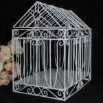 House Shaped Bird Cage Card Keeper image