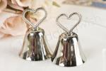 Heart Top Kissing Bell Placecard Holders image