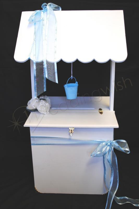 Wedding Jessica Square Wishing Well Hire Wedding Wish