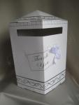 Cardboard Wishing Well Box with Bow image