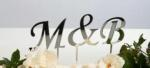 Cake Toppers Script Letters Uppercase- 6cm image