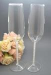 Floating Crystal Champagne Glass Set image