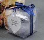 5cm Clear Favour Gift Boxes x 10 image