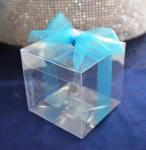 7.5cm Clear Favour Gift Boxes x 10 image