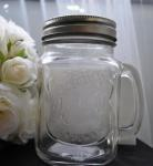 Mason Drinking Glass Jars with Lid image