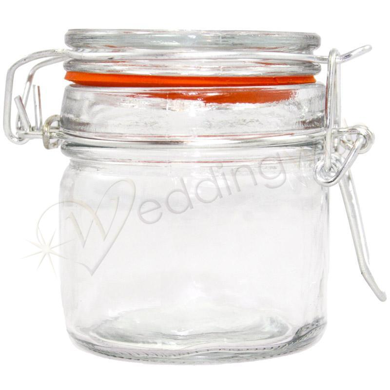 Wedding Mini Jam Jars With Clip Wedding Wish