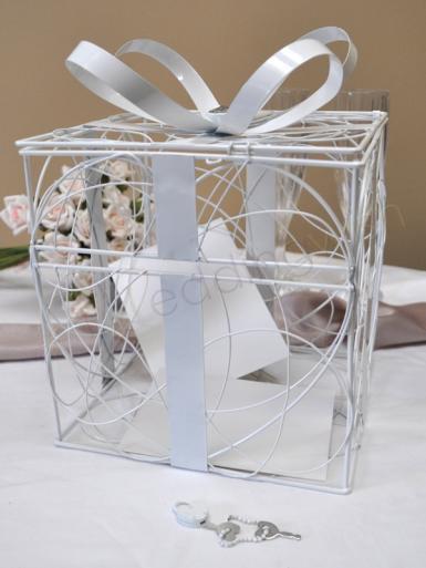 Wedding Wilton Gift Box Card Keeper - Wedding Wish