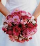 Wedding Pink Red Fuchsia Peach image
