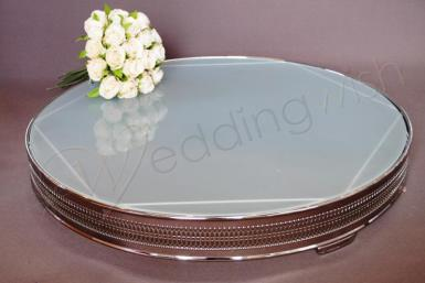 cake stand hire wedding cakes wedding frosted glass 22 inch cake stand hire 12307